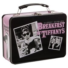 Breakfast At Tiffany's Audrey Hepburn Large Metal Tin Lunch Box NEW Toys Carrier