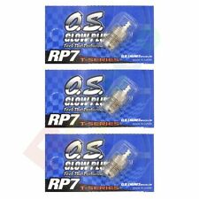 3PCS OS GLOW PLUG RP7 TURBO COLD ON-ROAD # OS71642070 O.S. Engines Parts