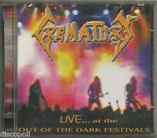 CREMATORY Live at the out of the dark festivals CD 1996