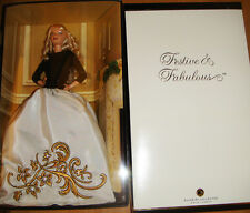Barbie 2007 Festive and Fabulous Barbie Doll NRFB W/Shipper xb800