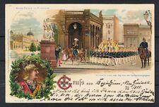 Deutsche Kolonien,DNG,Litho,schöne Karte Gruß aus Borjarjin 1899