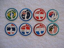 8 ~ The World of Hang Ten Series Milkcaps Pogs Bottle Caps Slammers Boys & Girls