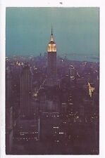 N.Y.C- EMPIRE STATE BUILDING , USED  PC,  1972, TO ISRAEL