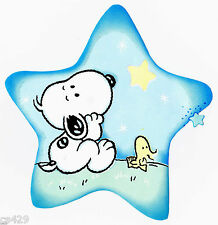 "6.5"" BABY SNOOPY & WOODSTOCK   CHARACTER  PREPASTED WALLPAPER BORDER CUT OUT"
