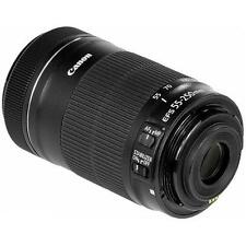 Canon EF-S 55-250mm f/4-5.6 IS STM Telephoto Zoom Lens Brand New Cod jeptall