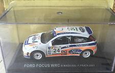 "DIE CAST "" FORD FOCUS WRC R.MADEIRA - F.PRATA - 2001 "" RALLY DEA SCALA 1/43"