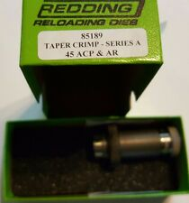 85189 REDDING 45 ACP & AR TAPER CRIMP DIE - BRAND NEW - FREE SHIP