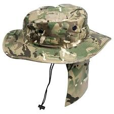 BRITISH ARMY MTP HAT BOONIE WITH NECK CLOTH BRAND NEW SIZE 53 MULTICAM
