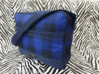 FRED PERRY Men's Record Shoulder Bag CHECK Airline Navy Messenger Bag BNWT RP£55
