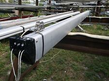 12 foot 9 inch Sailboat Boom with Complete 4 Sheave Outhaul Assembly