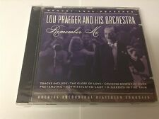 Lou Praeger : Remember Me CD (2008) NEW SEALED