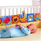 Tiere Motive Baby Bettumrandung Bettset Nestchen Lernkette aus Stoff 96*15cm