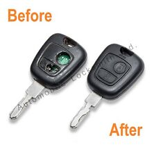 Repair Service for Peugeot 406 2 button remote key fob COMPLETE REFURBISHMENT