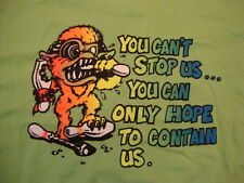 Bowlers Pro Shop Milwaukee WI Slogan Monster Funny Bowling Green T Shirt SIze XL