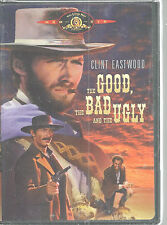 Clint Eastwood Good Bad And Ugly DVD Lee Van Cleef Eli Wallach Western