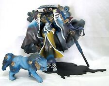 Final Fantasy X-2 Yojimbo Heretic with Daigoro Collectible Rare - Action Figures