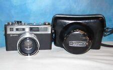 Vintage G YASHICA Electro 35 w/Yashinon-DX 45mm 1.7 & Case J58