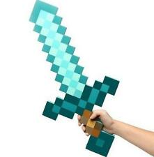 New Craft Sky Blue Role Play Prop Diamond EVA Foam Sword Mine Toy
