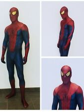 The Amazing Spider-man 3D Halloween Cosplay Costume with Spiderman Lenses