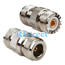 N-Type FEMALE Jack to UHF SO239 female Jack straight RF Coax Adapter Connector