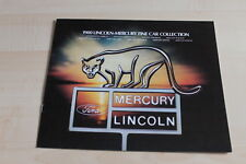 112954) Mercury Lincoln Continental Zephyr Bobcat - USA - Prospekt 1980