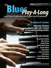 Blues Play-A-Long & Solos Collection for Piano Keyboards Play MUSIC BOOK & CD