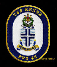 RENTZ FFG-48 PATCH PIN UP US NAVY VETERAN GIFT GUIDED MISSILE FRIGATE CHAPLAIN