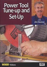 Power Tool Tune-Up and Set-Up DVD with Jim Heavey (Wood Magazine)