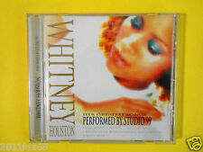 compact disc whitney houston performed by studio 99 i wanna dance with somebody