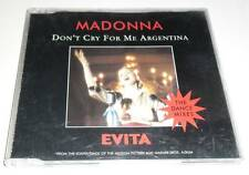 MADONNA - DON'T CRY FOR ME ARGENTINA - THE DANCE MIXES - 1996 UK CD SINGLE CD2
