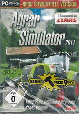 CD-ROM + Agrar Simulator 2011 + Landwirtschaft + Viehzucht + Acker + Win 7