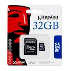 Kingston 32GB MicroSD HC MicroSDHC Memory Card 32 GB SDC4/32GB with Adapter