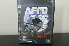 Afro Samurai  (Sony Playstation 3, 2009) *Tested
