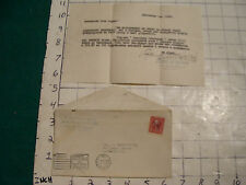 vintage paper: from Ukrainian art calenders letter in Russian, to REVEREND