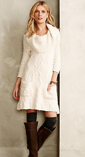 NEW Sleeping on Snow Meli Cable Sweater Dress XS Anthropologie