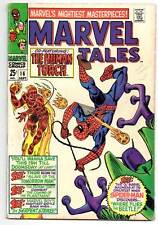 MARVEL TALES SILVER AGE COMIC #16 1968 - SPIDERMAN,THOR,  HUMAN TORCH etc.