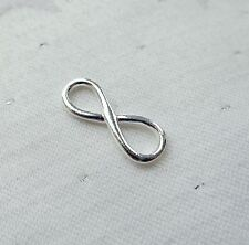 INFINITY SYMBOL LOVE MATHS PHYSICS CHARM 925 STERLING SILVER