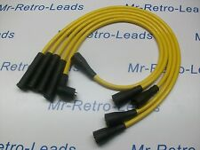 YELLOW 8MM PERFORMANCE IGNITION LEADS VW GOLF MK2 1.3 1.6 1.8 GTi MK3 1.6i 1.8i