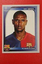 PANINI CHAMPIONS LEAGUE 2008/09 # 97 FC BARCELONA ABIDAL BLACK BACK MINT!