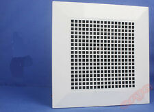 * @White Silence Square Shape Kitchen Bathroom Ceiling Exhaust Extraction Fan