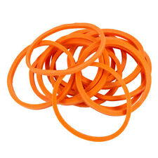 Bag of 1000 Standard #12 ORANGE Rubber Bands for Tattoo Machines 1/4 Lb Pound