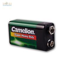 9V-Block Batterie Camelion  Zink/Kohle 9,0 Volt Blockbatterie 9 V Blockbatterie