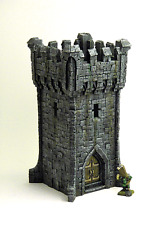 Rock Tower 01 - Terrain for Warhammer / D&D / Warmachine