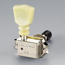 Schaller Original G-Series Keystone DR Toplocking tuners, 3x3 Nickel 10150123