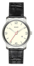 Neues Modell ! XEMEX PICCADILLY QUARTZ Ref. 880.14 3 HANDS DATE