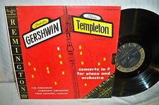 remington R-199-184 alec TEMPLETON thor johnson gershwin mono EX LP