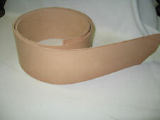 Vegetable Tanned Leather Belt Blank 4""