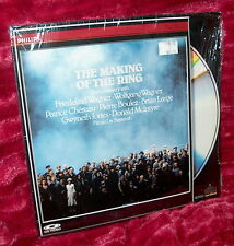 LD Laserdisc THE MAKING OF THE RING documentary NIBELUNGEN opera Wagner SEALED