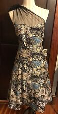 Tracy Reese Plenty Frock! NWT Dress Anthropologie Tree Print 12 $288