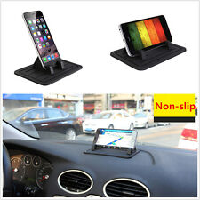 Universal Silicon Pad Dash Cellphone Car Mount Holder Cradle For iPhone Samsung